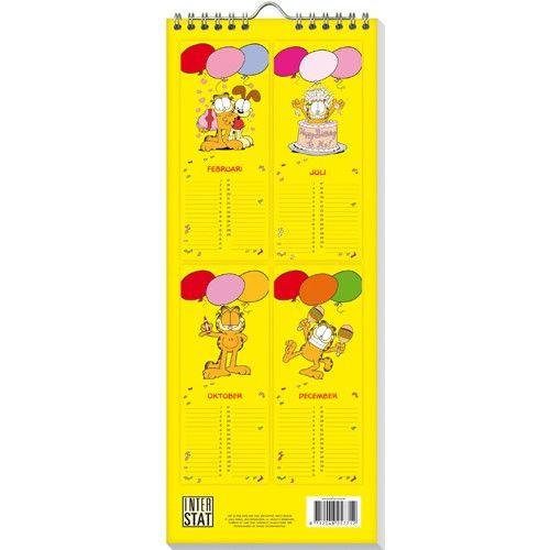 Garfield Verjaardagskalender