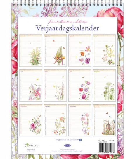 Janneke Brinkman Pioen Verjaardagskalender
