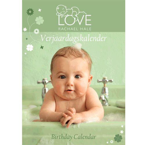 Rachel Hale Baby Love verjaardagskalender