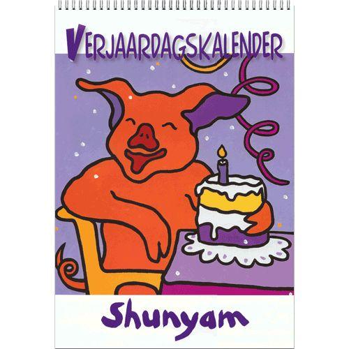 Shunyam Verjaardagskalender